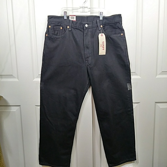 Levi's Other - Levi 550 Relaxed Black Jeans